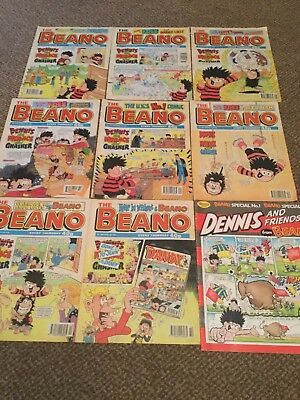 the beano comic 1995 joblot