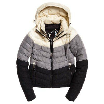 Superdry Fuji Chevron Mix Multicolor , Abrigos y parkas Superdry , moda