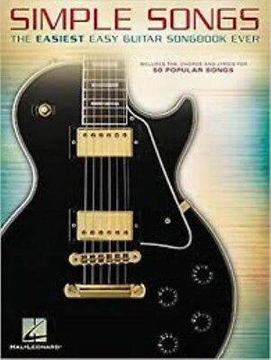 Simple Songs The Easiest Easy Guitar Songbook Ever Music Fast Free