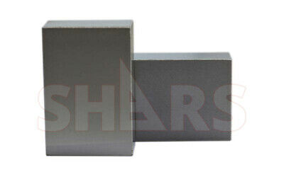 Shars Matched Pair Ultra Precision 1-2-3 123 Block with No Holes Machinist New