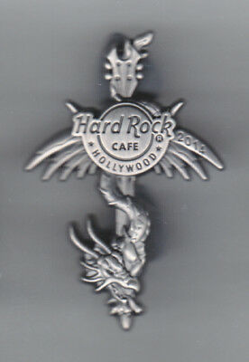Hard Rock Cafe Pin: Hollywood 2014 3D pewter Dragon le300