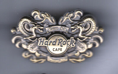 Hard Rock Cafe Pin: Online 3D Dragons le50