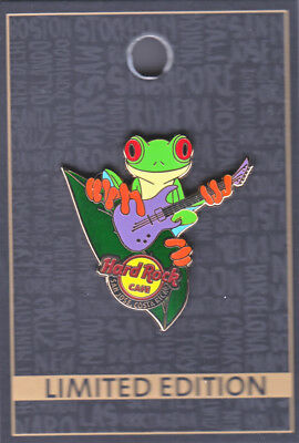 Hard Rock Cafe Pin: San Jose Costa Rica Tree Frog le200