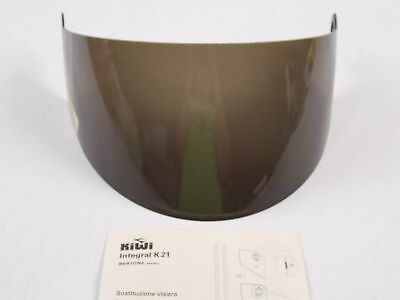 Kiwi Motorcycle Scooter Helmet Smoke Face Shield Mask Visor Screen Intergral K21