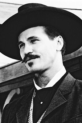 Val Kilmer Tombstone Close Up As Doc Holliday 11x17 Poster 1999