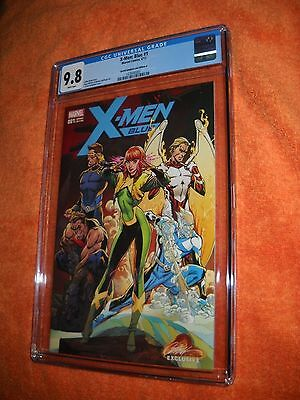 Marvel Comics X-Men Blue 1 Cgc Graded 9.8 J Scott Campbell Cover A