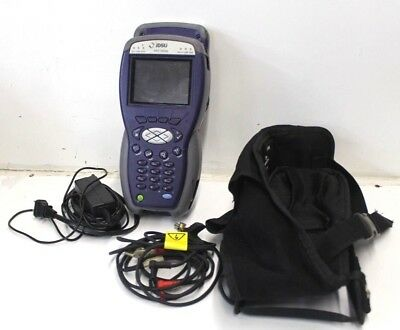 JDSU HST-3000c SIM Cable Tester HST3000-BDCM-WB2-2 w/ Leads and Power Adapter