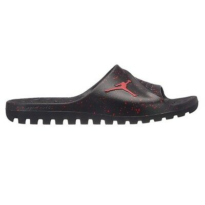 dbcbcbd22 NIKE JORDAN SUPER.FLY Team 2 Graphic Slide Black University Red Mens ...