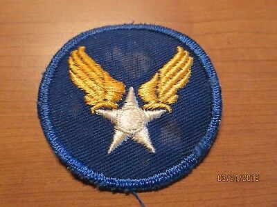 Ww2 White Star Army Air Corps Patch