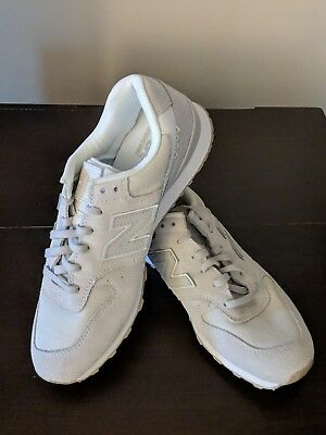 best sneakers 3f87c 91314 BRAND NEW! NEW Balance Women's 696 Running Shoes, Suede, Off White, Size 10