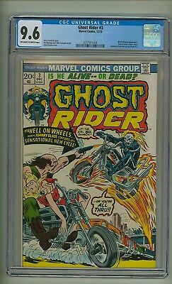 Ghost Rider #3 (CGC 9.6) OW/W pages; Witch-Woman; Son of Satan; 1973 (c#21292)