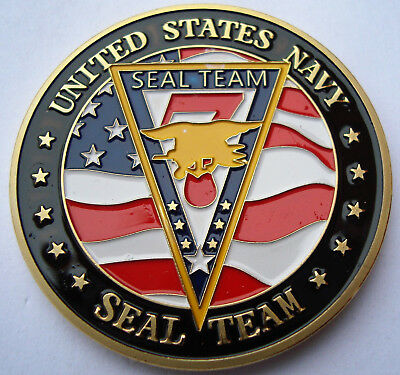 Coin Münze USA Department of the NAVY - USN SEAL Team