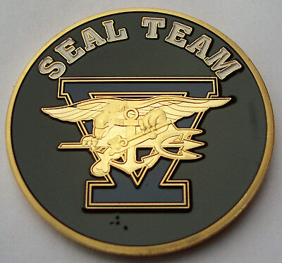 Coin Münze USA Department of the NAVY - SEAL Team
