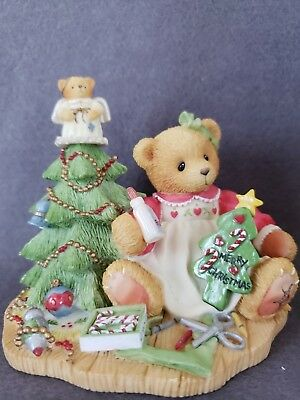 "NIB Enesco Cherished Teddies ""LYNN"" # 310735"