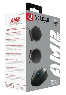 Uclear AMP Go Bluetooth Helmet Audio System w/ Boost 2.0 Speaker 161237