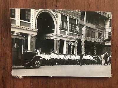 China Old Photo Chinese Procession People Street In Canton !!