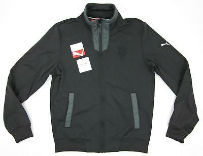 NWT Puma Mens SCUDERIA FERRARI RACING Track Jacket Black Sz Small