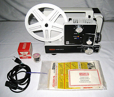 Vintage Eumig Mark 610 D Motion Picture Projector (100)
