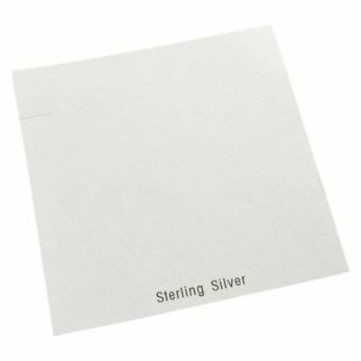 """200pc Pack """"Sterling Silver"""" Earring Cards 5.25"""" x 5.25"""""""