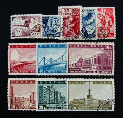 nystamps Russia Stamp # 693 // 712 Used $50