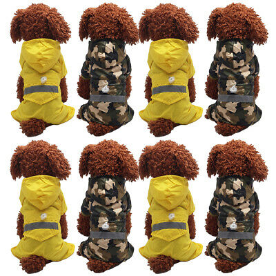 Four-Legged Pet Dog Clothes Waterproof Double-layer Teddy Camouflage Costume