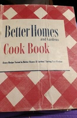 Vintage Better Homes and Gardens Cook Book 1949 19th Printing