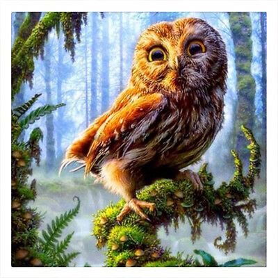 Forest Eagle Needlework 3D Diamond Embroidery Mosaic Diy Diamond Painting Home