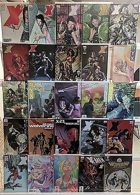 X-23 Comics Huge 25 Comic Book Collection Lot Set Run Books Box 1