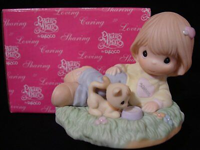 Precious Moments **VERY RARE Special Limited Edition Figurine** 2'nd In Set Of 3