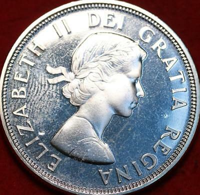 Uncirculated 1964 Silver Canada $1 Foreign Coin
