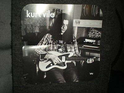 POSTERS by KURT VILE usa limited edition promo Bottle it In For the bands album