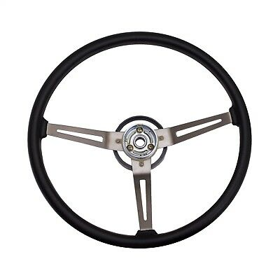 Jeep Cj Yj Wrangler Cherokee Grant Black Steering Wheel Black Spokes