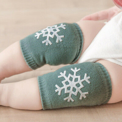 Baby Crawling Knee Pads Thickened Breathable Skidproof Snowflake Star Pattern