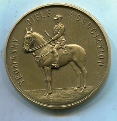 Yeomanry Rifle Association Regimental Medal 1914.NAMED