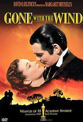 Gone With the Wind (DVD, 2000) Margaret Mitchell 1939 Best Picture Clark Gable