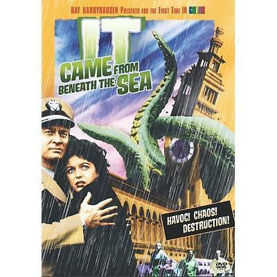 DVD Movie IT CAME FROM BENEATH THE SEA Ray Harryhausen in Color Kenneth Tobey