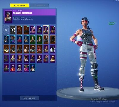 CHEAP FORTNITE ACCOUNT  make glider, lots of skins and rare emotes dont  miss out