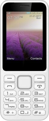 """IMO Dash Verve Connect 3G 2.4"""" Mobile Phone Unlocked 1YR Warranty - *White* B"""