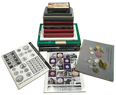 Huge Lot Of Vintage Coin Books - Scarce!  Must See Lot!  Earlier Publications