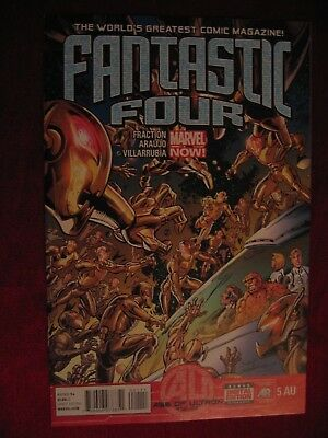 Fantastic Four #5AU Age of Ultron tie in Fraction Marvel 2013 VFN P&P Discounts