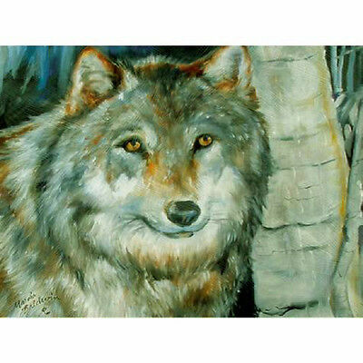 Winter Wolf MARCIA BALDWIN Canvas Wall Art 12X16 Gift Boxed ~ Free Shipping ~