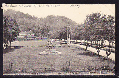 Ceylon Postcard Holy Tooth Temple #136