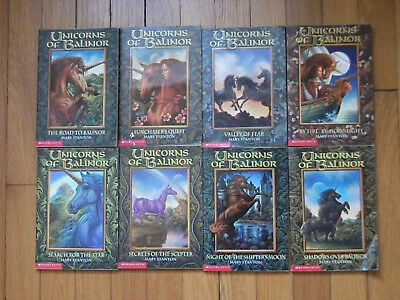 Complete Unicorns of Balinor Mary Stanton Lot of 8 PBs