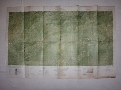 Vietnam War Color Photomap DARLAC TUYEN DUC Sheet 6633 II N, As Of Year 1965