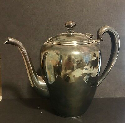 Pairpoint Coffee Pot Pitcher Quadruple Plate New Bedford Mass B2005 Silverplate