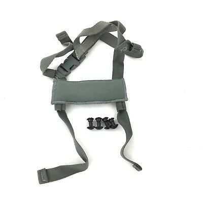 ACH Replacement 4 Point Chin Strap & Bolts, Advanced Combat Helmet Spare Parts