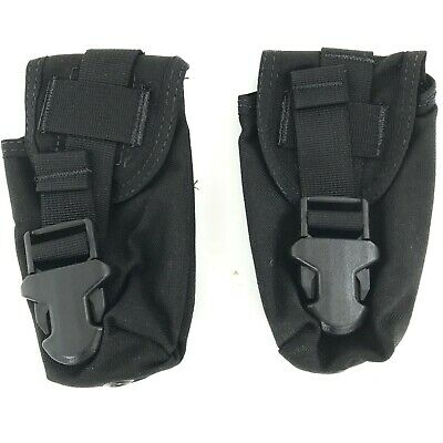 TacMed Tourniquet Case, Tactical Medical SOF-T MOLLE Pouch, Black, 2 PACK
