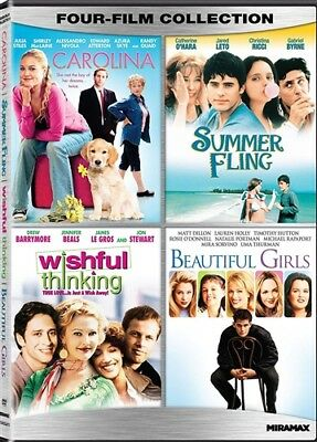 ROMANTIC COMEDY FOUR FILM COLLECTION New DVD Summer Fling Wishful Thinking