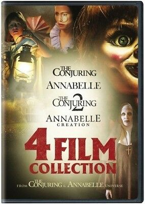 ANNABELLE 4 FILM COLLECTION New 4 DVD Annabelle + Creation + The Conjuring 1+ 2