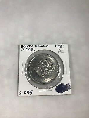 1981 South Africa 1 Rand - Condition Au
